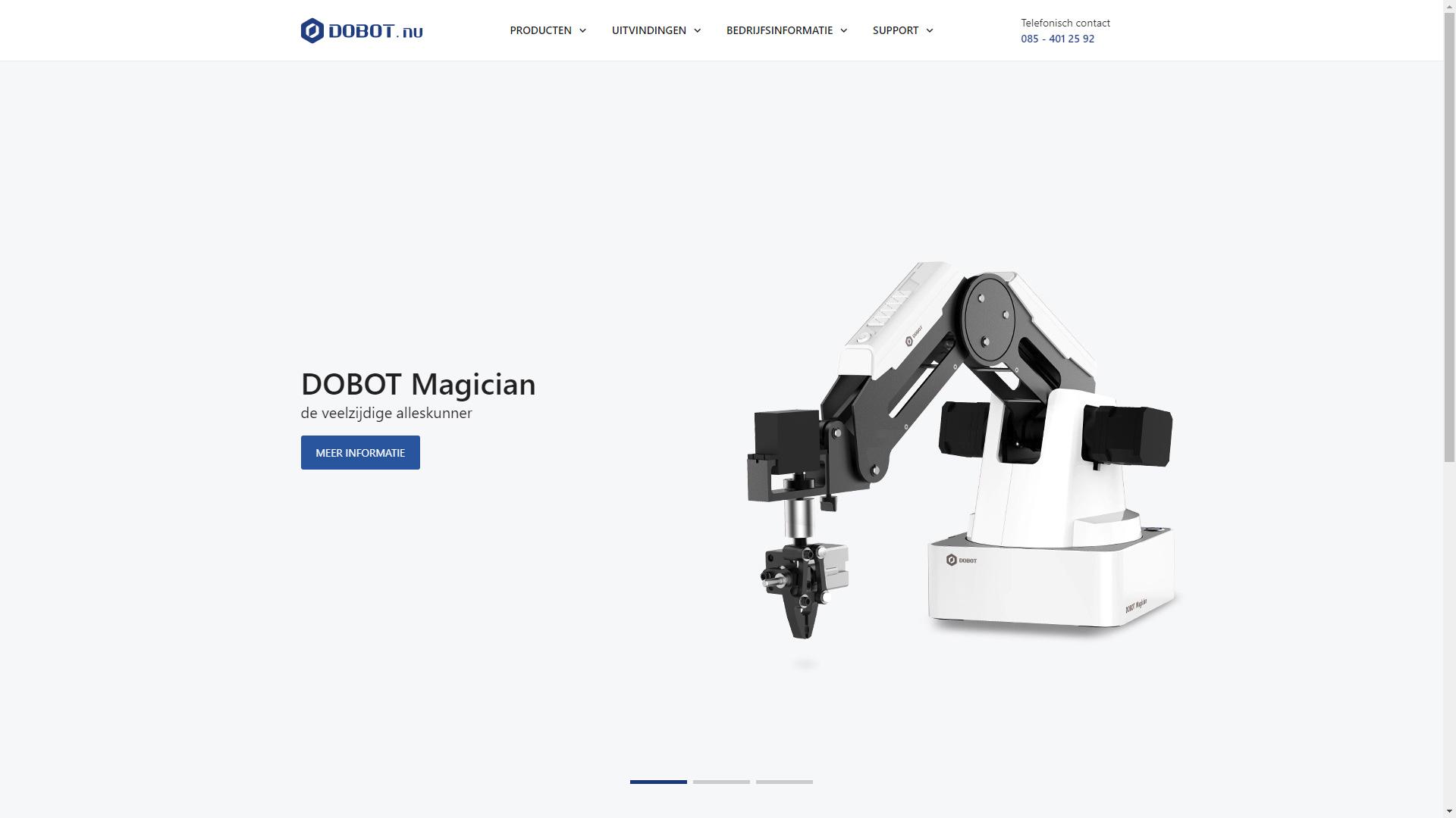 DOBOT.nu - Homepagina