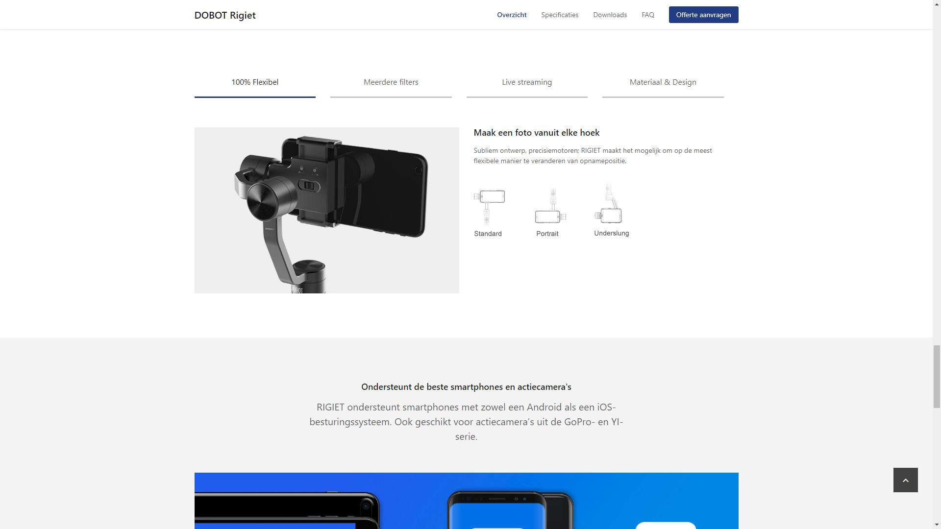 DOBOT.nu - Productpagina